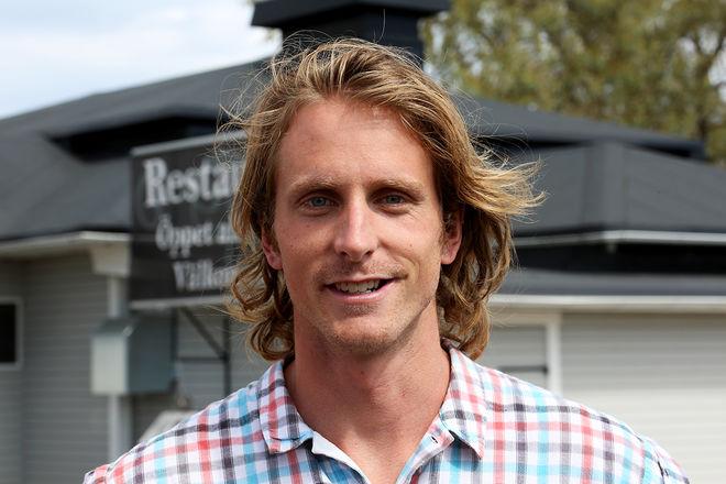 EMIL JOHANSSON - också känd från Gladiatorerna på TV4 - tävlade mot Petter Northug jr i norska Trysil under torsdagseftermiddagen. Foto/rights: KJELL-ERIK KRISTIANSEN/sweski.com