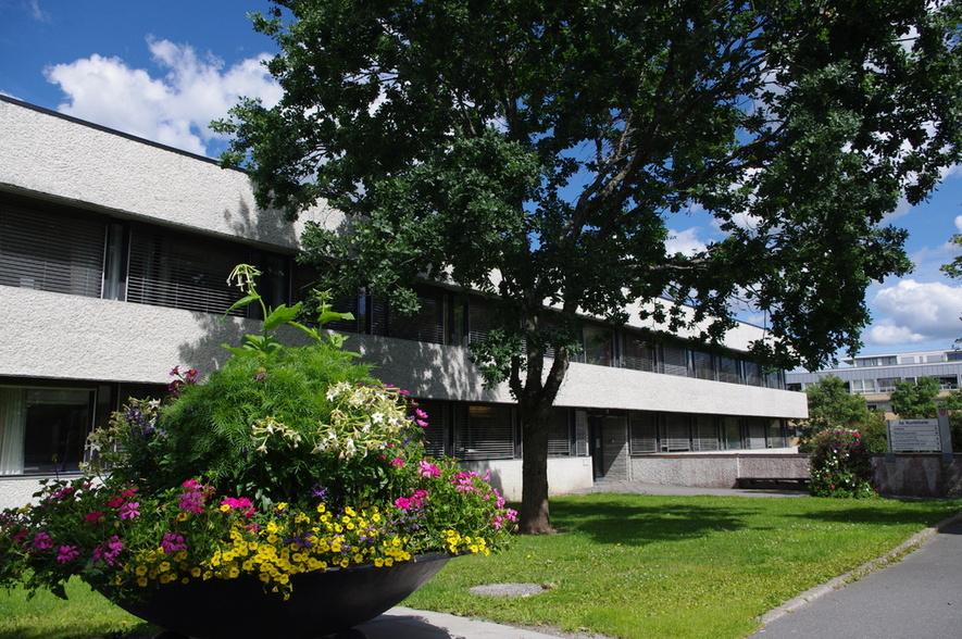 Ås rådhus inngang Skoleveien