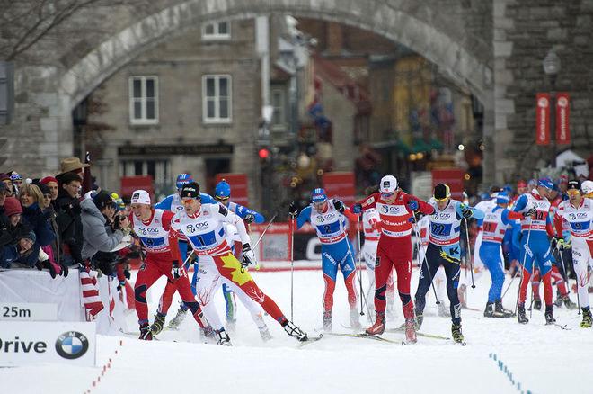 HÄR ÄR en bild från förra gången världscupen gick i Quebec City. Foto: STEVE DESCHENES