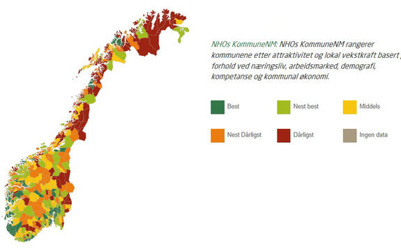 Illustrasjonsbilde NHOs Kommune-NM