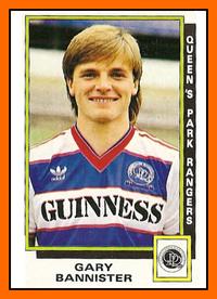 12-Gary BANNISTER Queens Park Rangers 1986