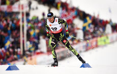 25.02.2015, Falun, Sweden (SWE): Robin Duvillard (FRA)- FIS nordic world ski championships, cross-country, 15km men, Falun (SWE). www.nordicfocus.com. © NordicFocus. Every downloaded picture is fee-liable.