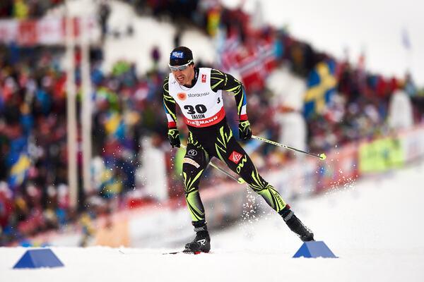 25.02.2015, Falun, Sweden (SWE): Robin Duvillard (FRA)- FIS nordic world ski championships, cross-country, 15km men, Falun (SWE). www.nordicfocus.com. © NordicFocus. Every downloaded picture is fee-liable. NordicFocus