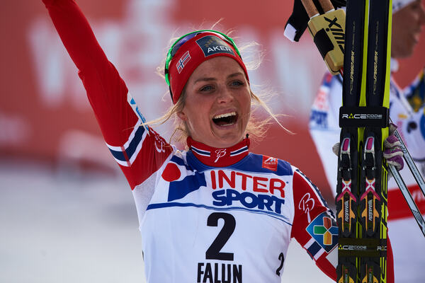 28.02.2015, Falun, Sweden (SWE): Therese Johaug (NOR)- FIS nordic world ski championships, cross-country, 30km women, Falun (SWE). www.nordicfocus.com. © NordicFocus. Every downloaded picture is fee-liable. NordicFocus