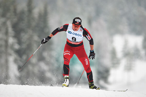 05.12.2014, Lillehammer, Norway (NOR): Justyna Kowalczyk (POL)- FIS world cup cross-country, individual sprint, Lillehammer (NOR). www.nordicfocus.com. © Felgenhauer/NordicFocus. Every downloaded picture is fee-liable. NordicFocus