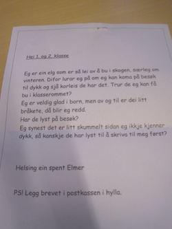 Brev frå Elmer