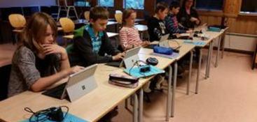 surface i klasserommet