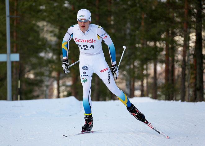 ADAM PERSSON var snabbast i kvalet i H17-18. Foto/rights: KJELL-ERIK KRISTIANSEN/sweski.com