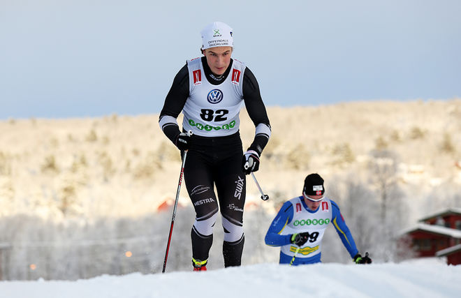 MAX NOVAK, Offerdal vann den udda distansen på drygt 3 km klassisk åkning i H19-20. Foto/rights: KJELL-ERIK KRISTIANSEN/sweski.com