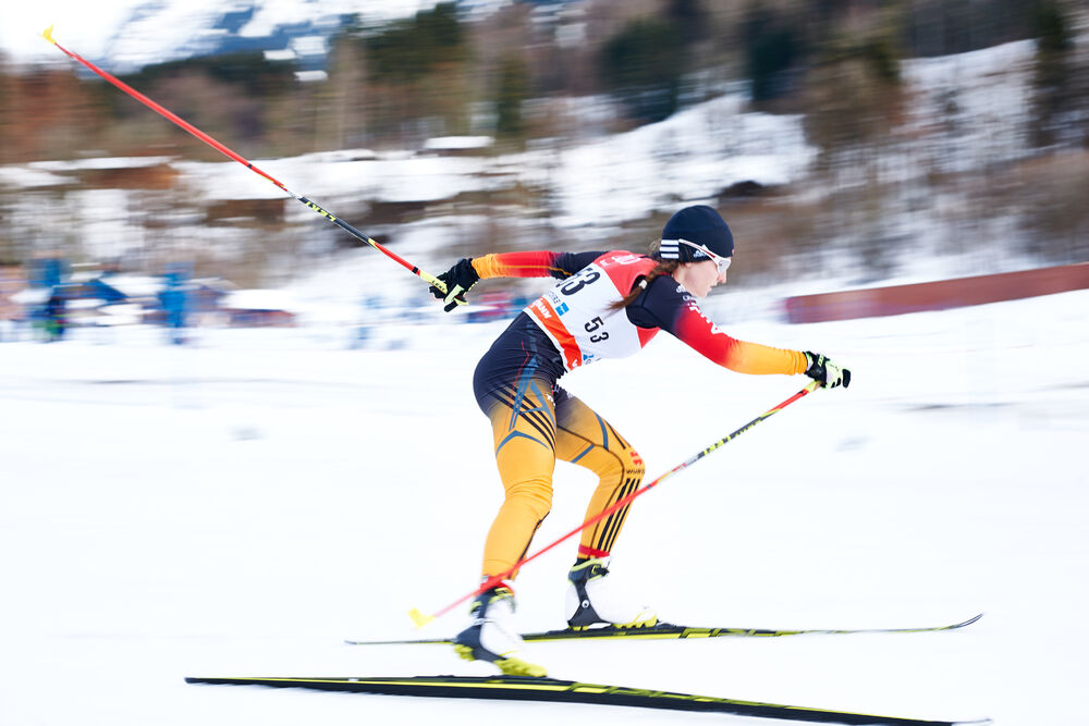 03.01.2015, Oberstdorf, Germany (GER): Julia Belger (GER)- FIS world cup cross-country, tour de ski, prologue women, Oberstdorf (GER). www.nordicfocus.com. © Felgenhauer/NordicFocus. Every downloaded picture is fee-liable.
