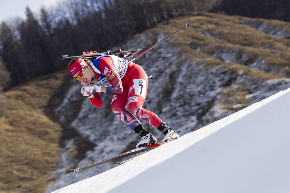 13.12.2015, Hochfilzen, Austria (AUT):Synnoeve Solemdal (NOR) -  IBU world cup biathlon, relay women, Hochfilzen (AUT). www.nordicfocus.com. © Manzoni/NordicFocus. Every downloaded picture is fee-liable.