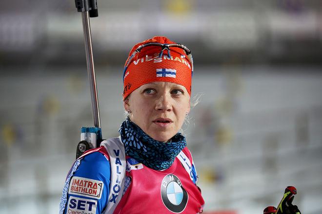 KAISA MÄKÄRÄINEN har bestämt sig för att satsa också nästa säsong, det betyder fullt fokus mot VM i Östersund i mars. Foto/rights: KJELL-ERIK KRISTIANSEN/KEK-stock