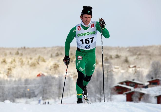 EMIL JOHANSSON vann dom två första etapperna av China Tour de Ski. Foto/rights: KJELL-ERIK KRISTIANSEN/sweski.com