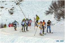 ski and run