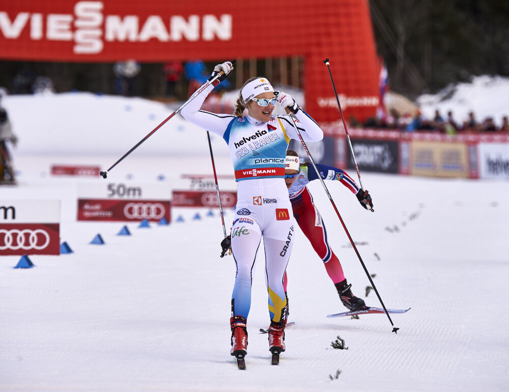 16.01.2016, Planica, Slovenia (SLO):Stina Nilsson (SWE) - FIS world cup cross-country, individual sprint, Planica (SLO). www.nordicfocus.com. © Felgenhauer/NordicFocus. Every downloaded picture is fee-liable.