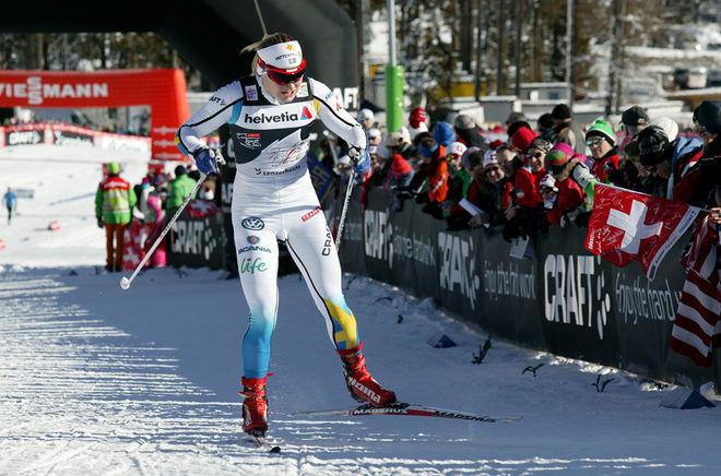 HANNA ERIKSON (Brodin) är äntligen tillbaka i tävlingsspåret. Hon var tvåa i en tävling i Italien i fredag. Foto/rights: MARCELA HAVLOVA/sweski.com