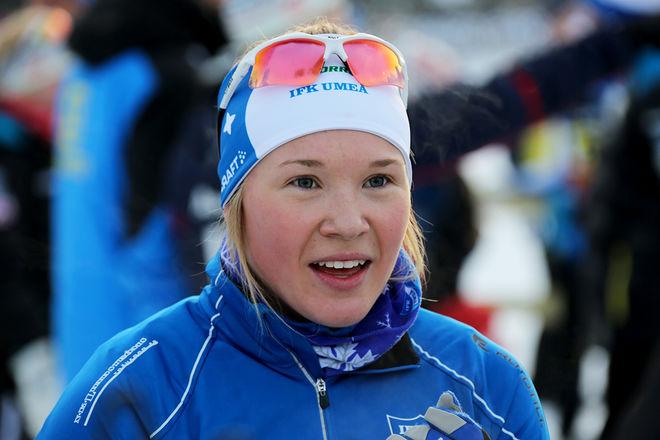 JONNA SUNDLING står över Skandinaviska cupen i Finland och väljer att tävla på hemmaplan i Östersund under fredagen. Foto/rights: KJELL-ERIK KRISTIANSEN/sweski.com