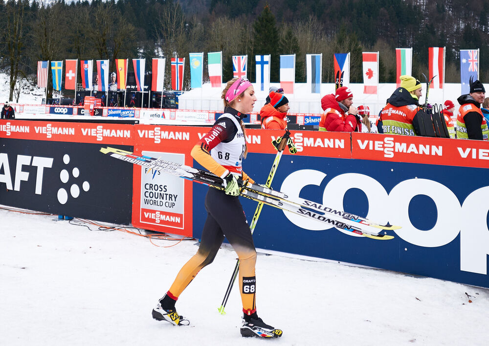 04.01.2015, Oberstdorf, Germany (GER): Laura Gimmler (GER)- FIS world cup cross-country, tour de ski, pursuit women, Oberstdorf (GER). www.nordicfocus.com. © Felgenhauer/NordicFocus. Every downloaded picture is fee-liable.
