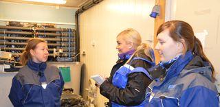 Tina, Therese Soltveit fra Norsk Fiskeoppdrett og Anette_6016x2931