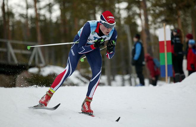 MARCUS LENNARTSSON, Garphyttans IF var bäst i H19-20 vid Scandic Cup i Hudiksvall. Foto/rights: KJELL-ERIK KRISTIANSEN/sweski.com