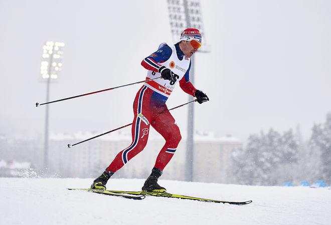 OLA VIGEN HATTESTAD är för första gången på 12 år inte med i det norska landslaget. Han vann två OS-guld i Liberec 2009 och vann OS-guld i sprint i Sochi 2014. Foto: NORDIC FOCUS