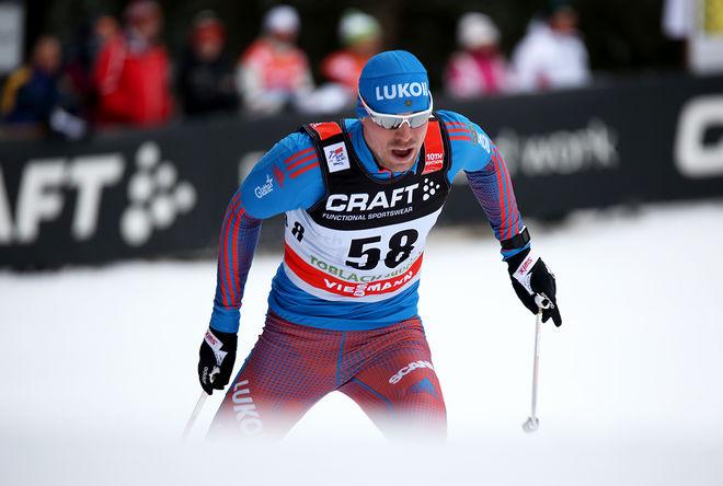 SERGEY USTIUGOV har vunnit tre guld på tre distanser vid dom ryska mästerskapen i Khanty-Mansiysk. Foto/rights: MARCELA HAVLOVA/sweski.com