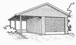Garasje, bod og lignende
