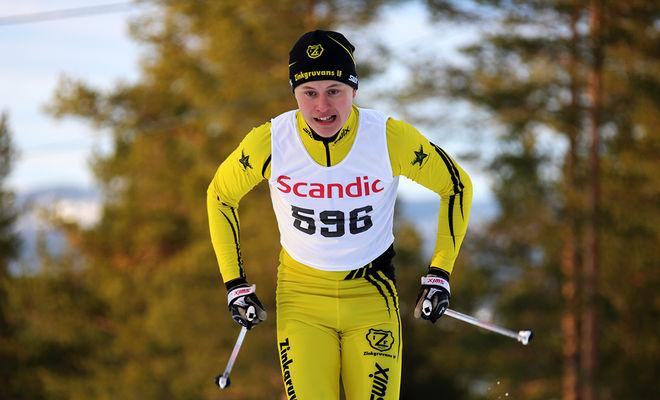 MARKUS JOHANSSON, Zinkgruvan var den som kom närmast suveränen Viktor Thorn i JSM-sprinten i H19-20. Foto/rights: KJELL-ERIK KRISTIANSEN/sweski.com