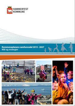 Bilde- Kommuneplanens samfunnsdel 2015-2027