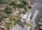 Son havn flyfoto