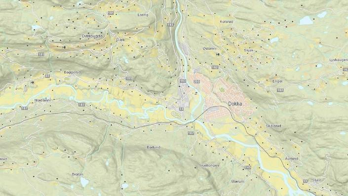 gårdsbruk kart Kart   Nordre Land kommune gårdsbruk kart