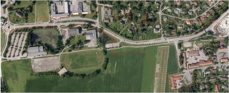 planavgrensning fylkesvei152 illustrasjonsbilde