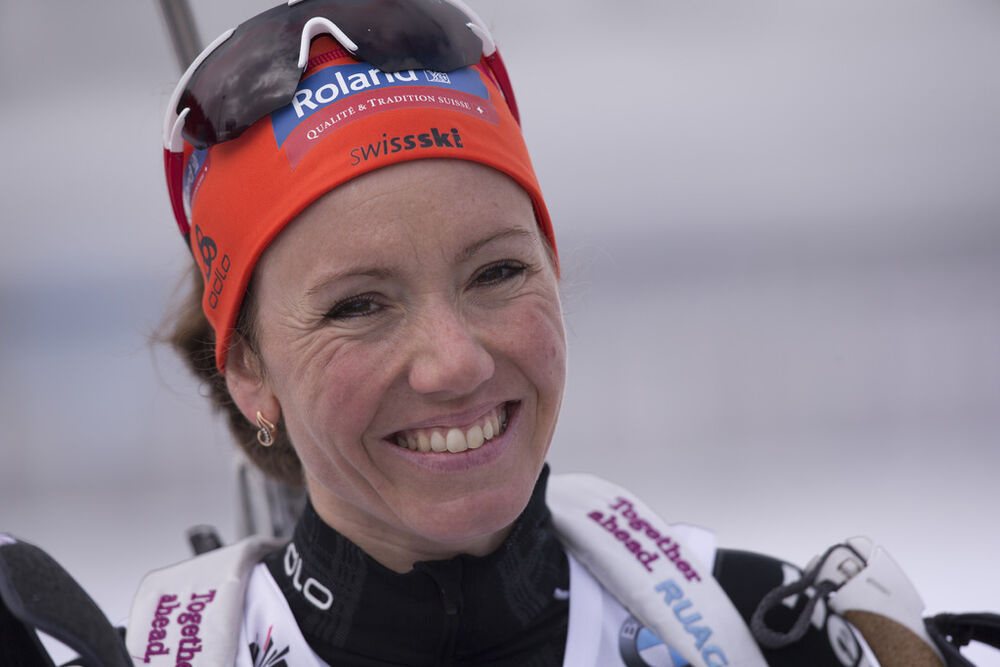 09.03.2016, Oslo, Norway (NOR):Selina Gasparin (SUI) - IBU world championships biathlon, individual women, Oslo (NOR). www.nordicfocus.com. © NordicFocus. Every downloaded picture is fee-liable.