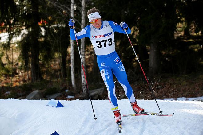 ERIK SILFVER, IFK Umeå vann igen 15 km i Vittjokk Runt. Foto/rights: KJELL-ERIK KRISTIANSEN/sweski.com