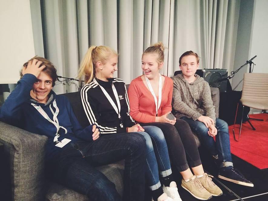Ungdommer fra ungdomsrådet i Ås