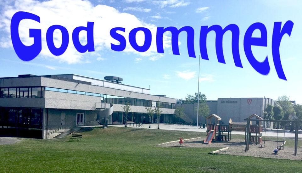 God sommer fra Ås kulturhus