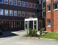 Inngangsparti Lunner rådhus