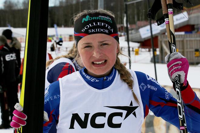 FRIDA KARLSSON vann igen i D17-18 i Scandic cup. Foto/rights: KJELL-ERIK KRISTIANSEN/sweski.com