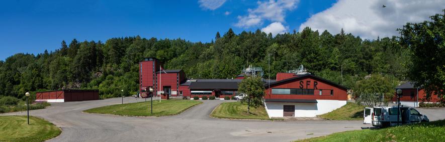 Bildet viser Søndre Follo Renseanlegg. Foto: Andreas Lindhjem.