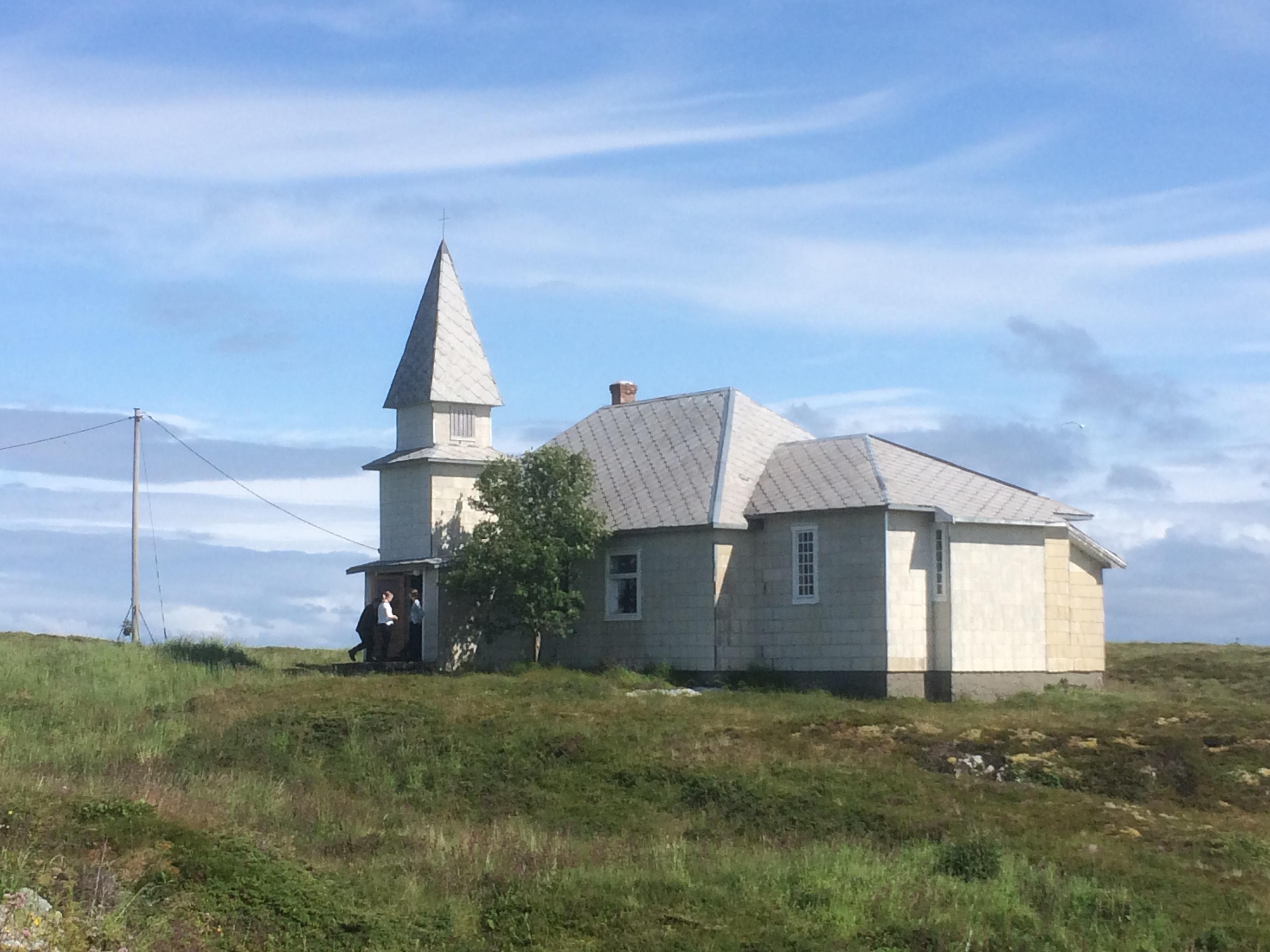 Gåsvær kapell 2015