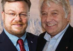 Thor Hals og Olav P. Breivik