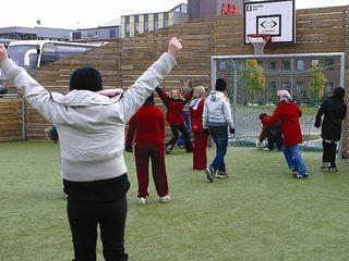 Unger og fotball