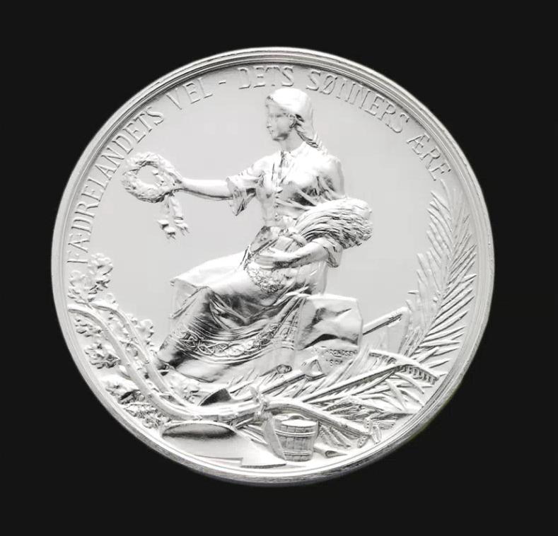 Norges Vels gründerpris gis i form av en sølvmedalje.
