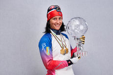 15.03.2015, Oslo, Norway (NOR): Marit Bjoergen (NOR)- FIS world cup cross-country, cups, Oslo (NOR). www.nordicfocus.com. © Felgenhauer/NordicFocus. Every downloaded picture is fee-liable.