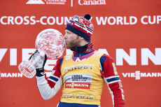 12.03.2016, Canmore, Canada (CAN):Martin Johnsrud Sundby (NOR) - FIS world cup cross-country, cups, Canmore (CAN). www.nordicfocus.com. © Felgenhauer/NordicFocus. Every downloaded picture is fee-liable.