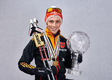 14.03.2015, Oslo, Norway (NOR): Eric Frenzel (GER)- FIS world cup nordic combined, cups, Oslo (NOR). www.nordicfocus.com. © Felgenhauer/NordicFocus. Every downloaded picture is fee-liable.