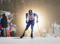 28.11.2015, Ruka, Finland (FIN):Maurice Manificat (FRA) - FIS world cup cross-country, 10km men, Ruka (FIN). www.nordicfocus.com. © Felgenhauer/NordicFocus. Every downloaded picture is fee-liable.