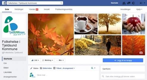Folkehelse i Tjeldsund på sosiale medier