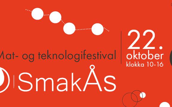 Mat- og teknologifestivalen SmakÅs fordeler seg på fire markedsområder fra Ås sentrum til universitets-området