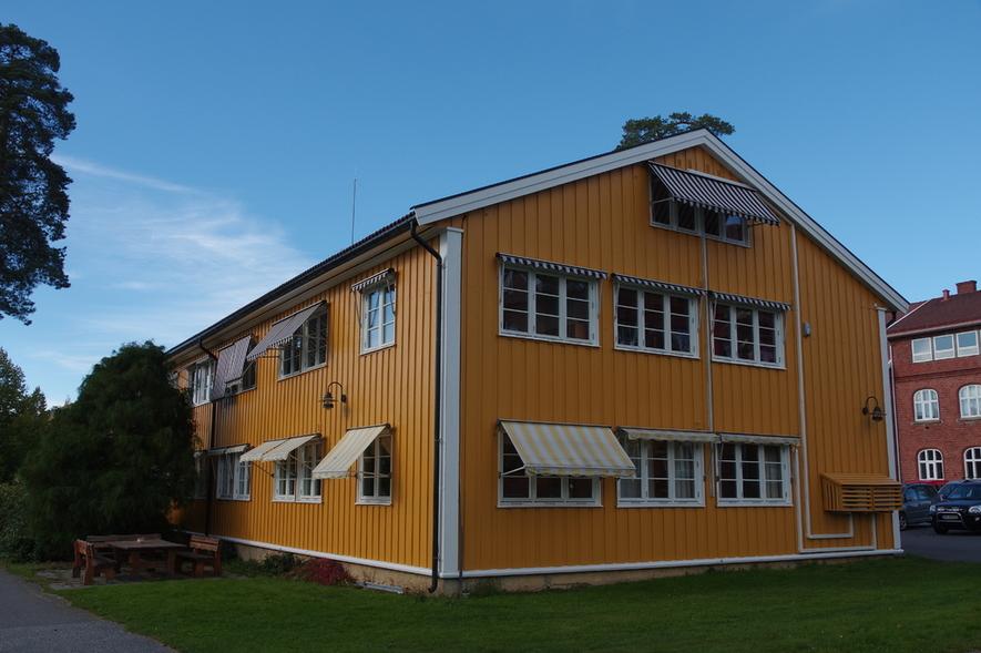 Landbrukskontoret i Skoleveien i Ås